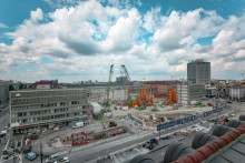 2nd core route in Munich: Start of diaphragm wall works at the central railway station