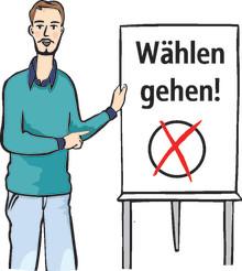 Hephata gibt Info-Broschüre heraus: Die Bundestagswahl - Einfach für alle