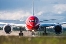 Norwegian modtager pris for Favorite Budget Airline ved amerikanske Trazee Awards