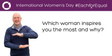 Executive Committee on International Women's Day: Nick Rowe