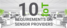 10 Things Your IoT Sensor Provider Should Fulfill