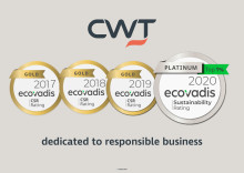 CWT awarded Platinum status for responsible business by EcoVadis – fourth consecutive year of being top-rated