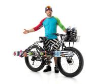 Skidåkaren Sverre Liliequist designar den ultimata cykeln för skidåkare
