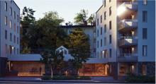 Tornstaden bygger hyresrätter i Bandhagen för Wallenstam