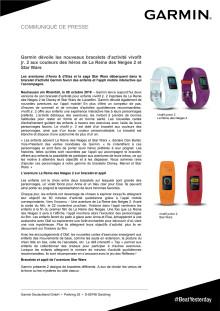 Garmin dévoile les nouveaux bracelets d'activité vívofit jr. 2 aux couleurs des héros de La Reine des Neiges 2 et Star Wars