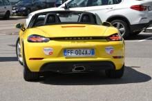 Fahrspaß in Südtirol mit dem neuen Porsche 718 Boxster der DolceVita Hotels