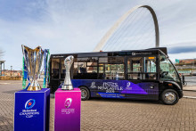 Go North East named official transport partner for Newcastle Falcons as rugby fever hits region