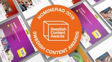 Arkitektkopia nominerade till Swedish Content Awards 2019