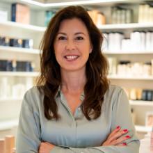Erika Bennerholt tar över VD posten på skönhetsagenturen Dermarome.
