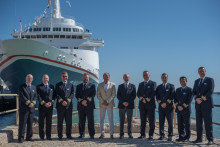 Fred. Olsen Cruise Lines reunites fleet for historic 'Captains in Cádiz' celebration