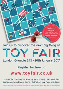 Toy Fair Media Invite