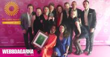 Webbdagarna är årets bästa event - vinnare av Gyllene Hjulet 2017