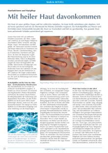 Hautfunktionen und Hautpflege: Mit heiler Haut davonkommen
