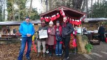 Tolle Einstimmung auf die Weihnachtszeit: Adventsmarkt bei Brot & Kees