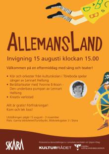 Invigning av Allemansland 15 augusti 2019