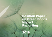 Nordic Position Paper on Green Bonds Impact Reporting, 2019