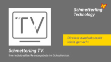 Schmetterling TV: direkter Kundenkontakt leicht gemacht