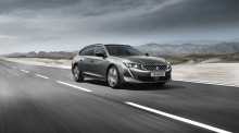 Premiär: Nya Peugeot 508 SW - Breaking the codes