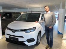 Høy Toyota-etterspørsel i april i Lofoten