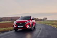 Hyundai slipper priser på Tucson hybrid N Line