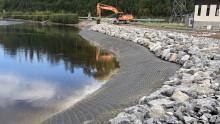 Svevia bygger för högre säkerhet vid Sollefteå kraftverk