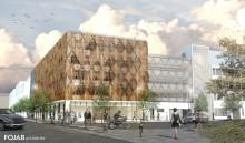 Invigning av första kommunala p-huset på 30 år