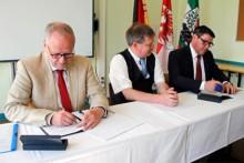 Landkreis will Bernauer Oberschule am Rollberg übernehmen