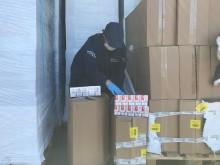 Eight million cigarettes seized in cross border operation