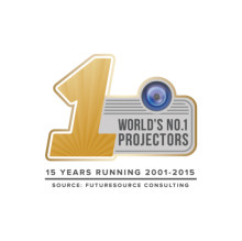 Epson named world's number one projector manufacturer  for 15 consecutive years