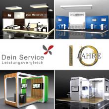 Messebau, Ladenbau und Messepersonal – 10 Jahre Dein Service GmbH