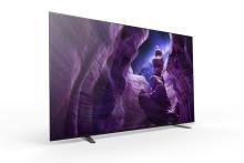 Sony A8 4K HDR OLED tv vanaf volgende week beschikbaar in de Benelux