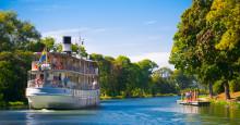 Stark säsongsstart för Göta kanal