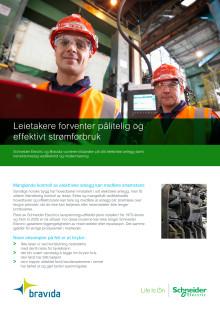 Service på eltavler Bravida/Schneider Electric - Flyveblad (PDF)