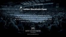 Sjöö Sandström - Official Timekeeper, Intrum Stockholm Open 2017
