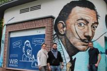 Weltberühmter Maler ziert Ortsnetzstation von Westfalen Weser Netz