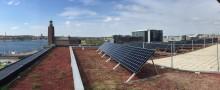 Solceller på taket- viktigt steg i rätt riktning
