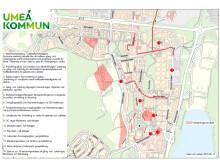 Mariehem, Marieberg, Mariedal åtgärdskarta
