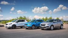 Alla Opels personbilar WLTP-certifierade