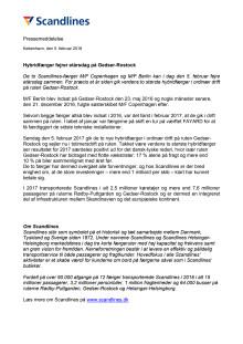 Hybridfærger fejrer etårsdag på Gedser-Rostock