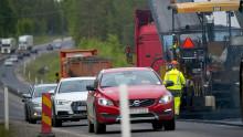 """4 av 10 svenskar: """"Andra trafikanter kör för fort vid vägarbeten"""""""