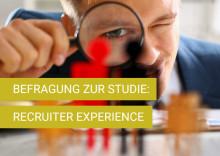 Studie zur Recruiter Experience. Eine Berufsgruppe im Wandel.