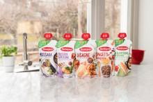 Nyhet! Barnas middagsfavoritter fra Semper – nå i klemmepose