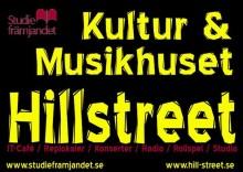 Kommande konserter på Hillstreet i Lindesberg
