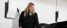 Fremtidens ladeanlegg for elbil på Toppenhaugen i Bærum