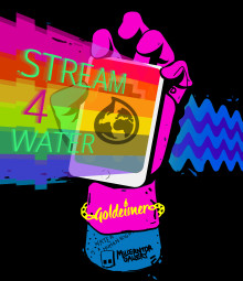2. Livestream-Festival #stream4water: Viva con Agua und prominente Unterstützer senden 36 Stunden live