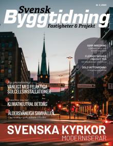 Nya numret av Svensk Byggtidning nr 3 2020 ute nu!