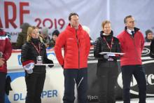 Stort intresse för skidfesten i Hammarbybacken och startskottet för förberedelserna inför alpina VM i Åre 2019