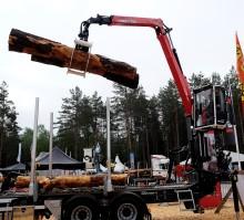 Palfinger Epsilon satsar på  ny kran för skogsmaskiner