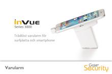 Trådlöst varularm för surfplatta och smartphone