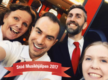 MTR Express servicevärdar bakom innovativt samarbete med Musikhjälpen